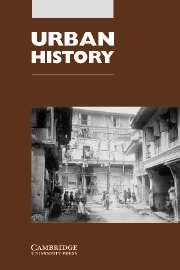 Urban History Volume 31 - Issue 2 -