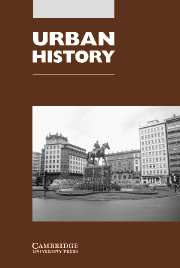 Urban History Volume 31 - Issue 3 -