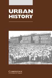 Urban History Volume 32 - Issue 2 -