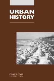 Urban History Volume 34 - Issue 2 -