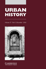 Urban History Volume 37 - Issue 3 -  Locating communities in the early modern Italian city