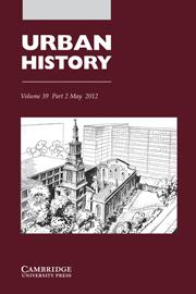 Urban History Volume 39 - Issue 2 -