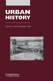 Urban History Volume 41 - Issue 4 -