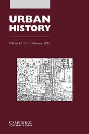 Urban History Volume 42 - Issue 1 -