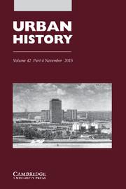 Urban History Volume 42 - Issue 4 -