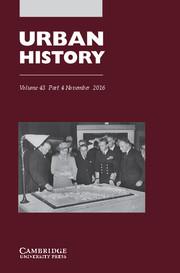 Urban History Volume 43 - Issue 4 -