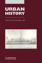 Urban History Volume 45 - Issue 4 -