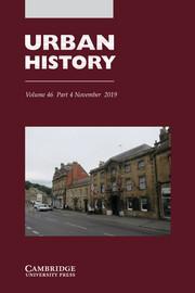Urban History Volume 46 - Issue 4 -