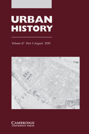 Urban History Volume 47 - Special Issue3 -  Thinking spatially: new horizons for urban history