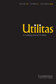 Utilitas Volume 26 - Issue 3 -