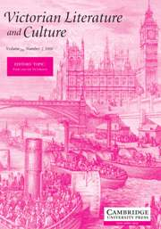 Victorian Literature and Culture Volume 36 - Issue 2 -