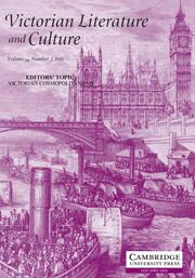 Victorian Literature and Culture Volume 38 - Issue 2 -