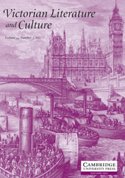 Victorian Literature and Culture Volume 39 - Issue 2 -