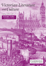 Victorian Literature and Culture Volume 42 - Issue 3 -  EDITORS' TOPIC: VICTORIAN INDIA