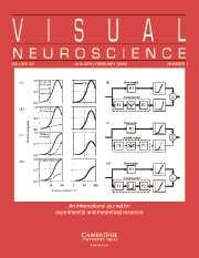 Visual Neuroscience Volume 22 - Issue 1 -