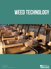 Weed Technology Volume 33 - Issue 4 -