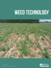 Weed Technology Volume 34 - Issue 3 -