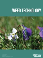 Weed Technology Volume 34 - Issue 4 -