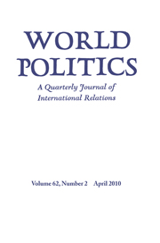 World Politics Volume 62 - Issue 2 -