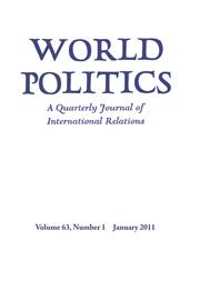 World Politics Volume 63 - Issue 1 -
