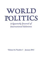 World Politics Volume 64 - Issue 1 -