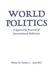 World Politics Volume 64 - Issue 2 -
