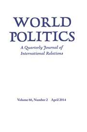 World Politics Volume 66 - Issue 2 -