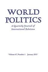 World Politics Volume 67 - Issue 1 -
