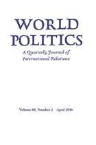 World Politics Volume 68 - Issue 2 -
