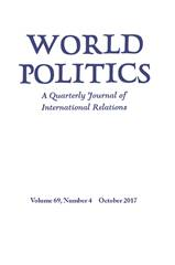 World Politics Volume 69 - Issue 4 -