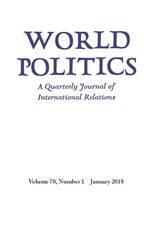 World Politics Volume 70 - Issue 1 -