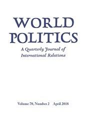 World Politics Volume 70 - Issue 2 -