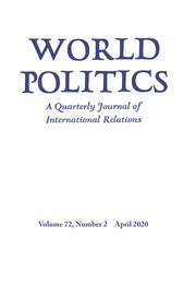 World Politics Volume 72 - Issue 2 -