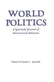 World Politics Volume 72 - Issue 3 -