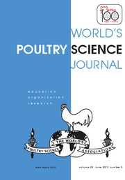 World's Poultry Science Journal Volume 69 - Issue 2 -