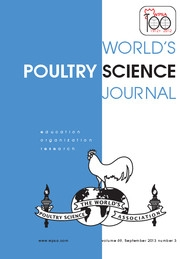 World's Poultry Science Journal Volume 69 - Issue 3 -