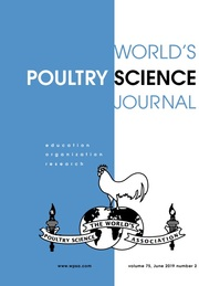 World's Poultry Science Journal Volume 75 - Issue 2 -