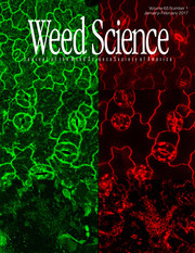 Weed Science Volume 65 - Issue 1 -