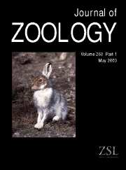 Journal of Zoology Volume 260 - Issue 1 -