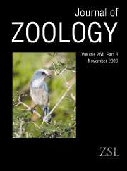 Journal of Zoology Volume 261 - Issue 3 -