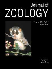 Journal of Zoology Volume 262 - Issue 4 -