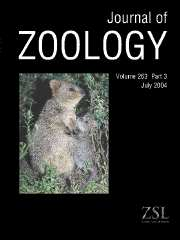Journal of Zoology Volume 263 - Issue 3 -