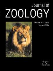 Journal of Zoology Volume 263 - Issue 4 -