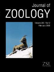 Journal of Zoology Volume 265 - Issue 2 -