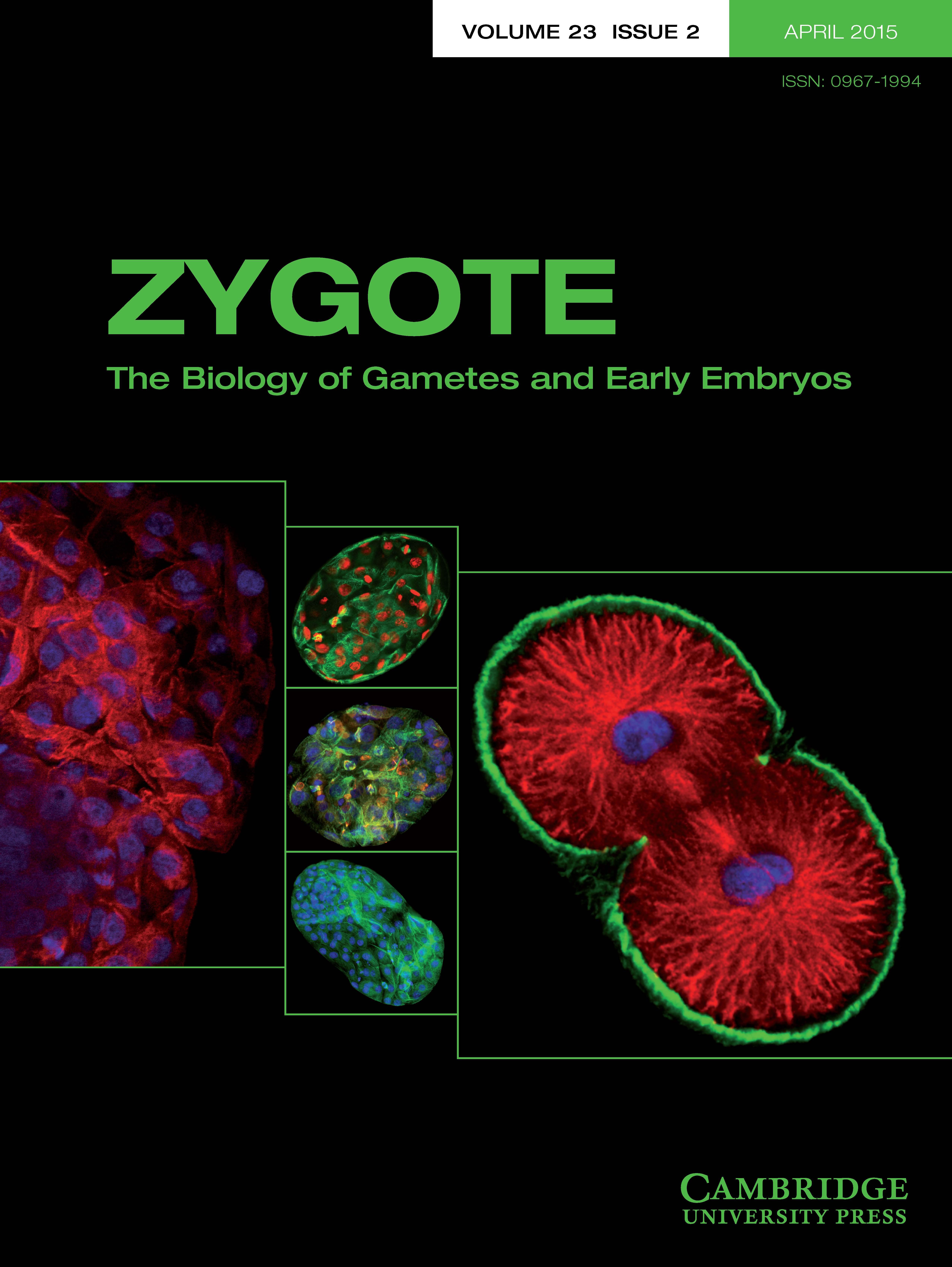 Zygote Volume 23 - Issue 2 -